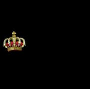 Cuckoo wearing a crown